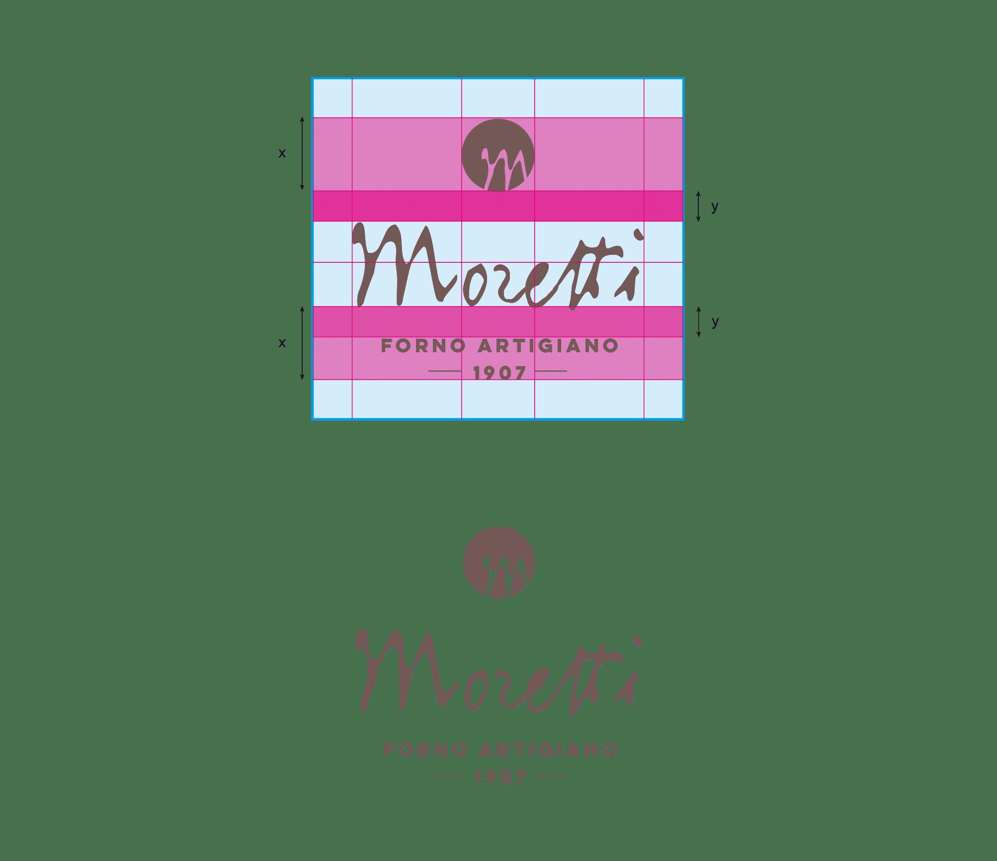 logo forno artigiano moretti