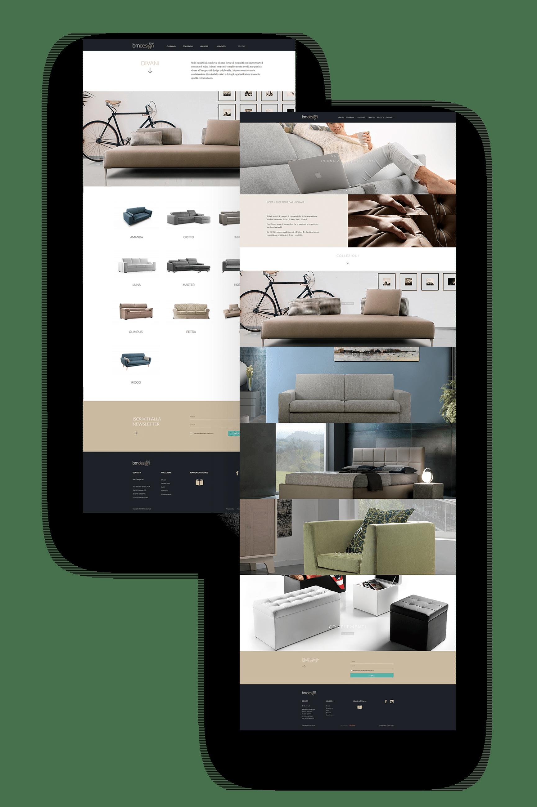 sito web bm design