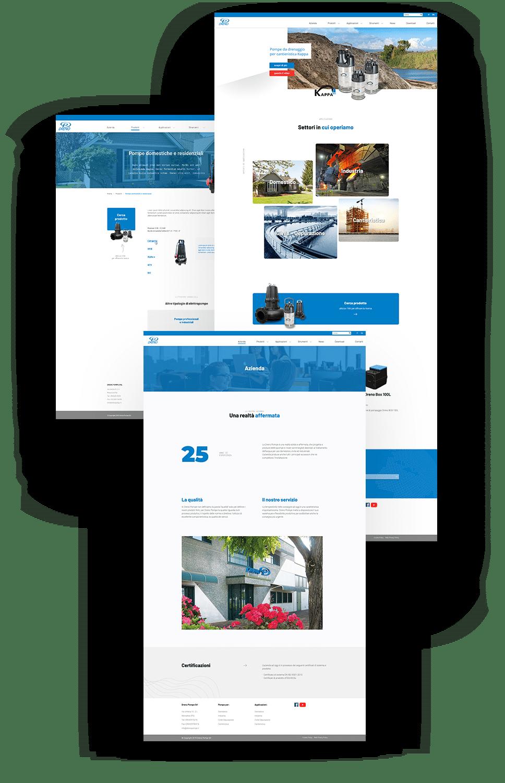 sitoweb dreno pompe