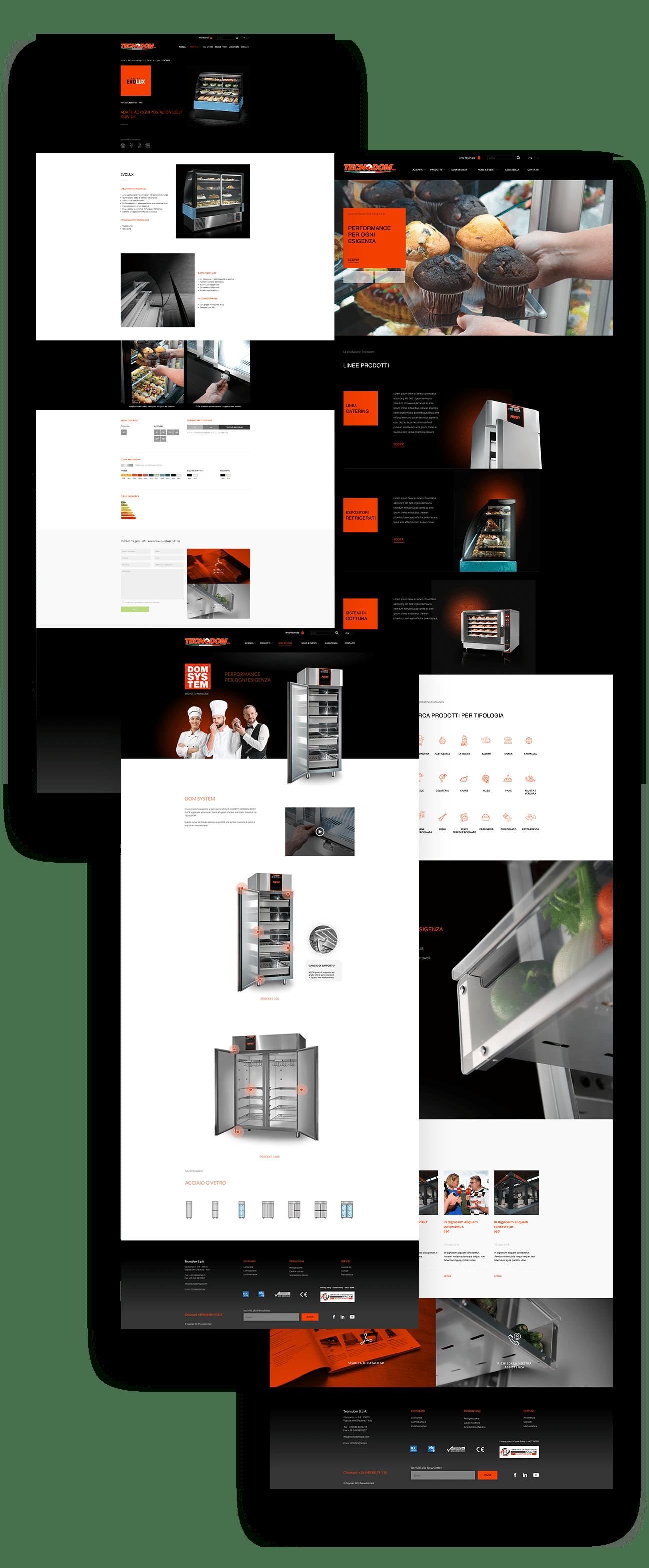 sitoweb tecnodom responsive