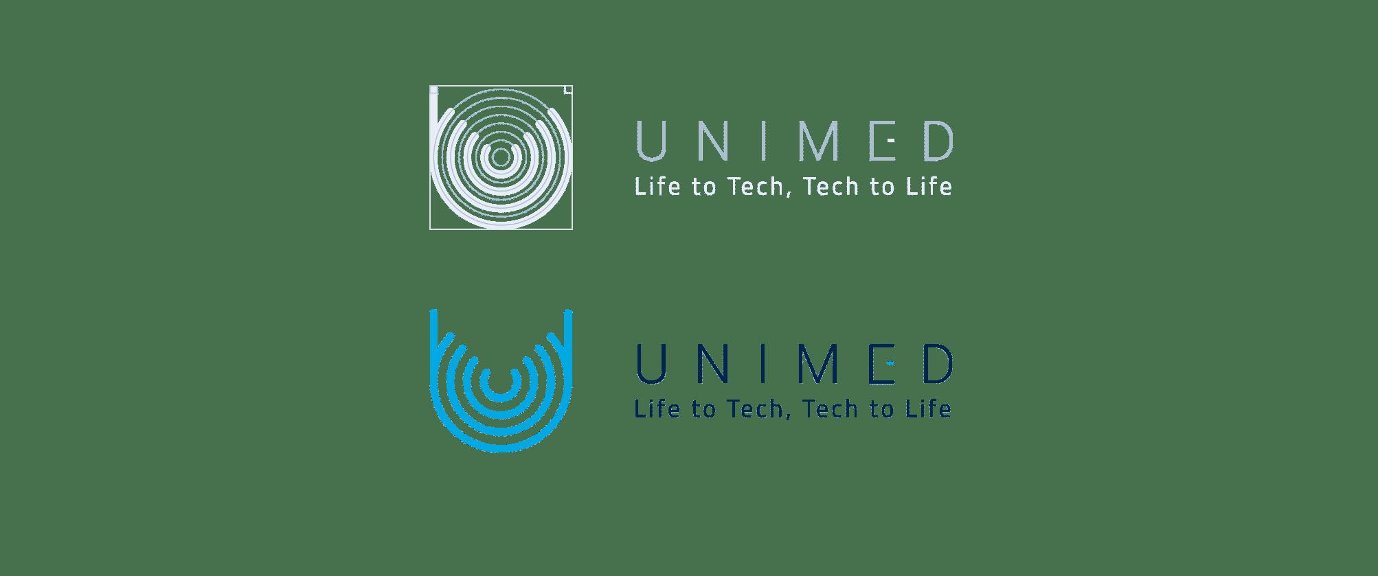 unimed realizzazione sito logo