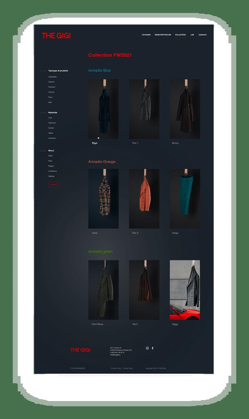 sitoweb desktop thegigi 2